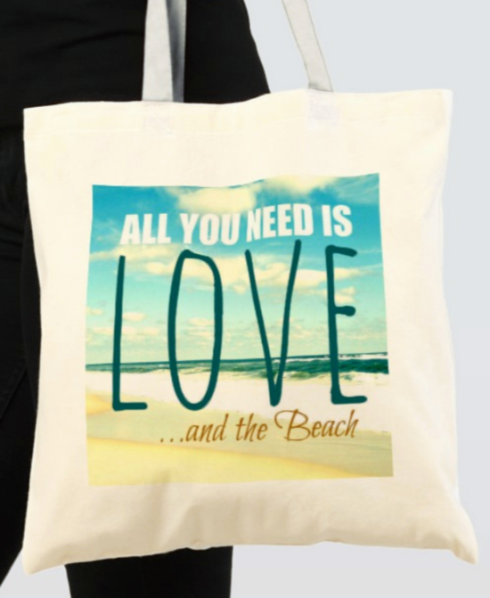 All You Need Is Love and the Beach Bag
