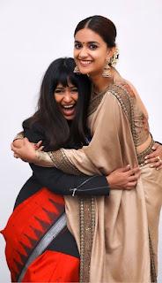 Keerthy Suresh and Indrakshi Pattanaik Malik Receiving 66th National Awards 2019 1