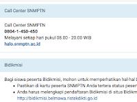 Cara Pendaftaran Online SNMPTN Login Siswa 2018/2019
