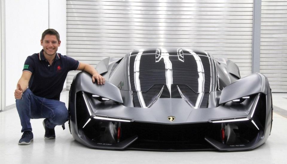El fueguino que diseño el Lamborghini Terzo
