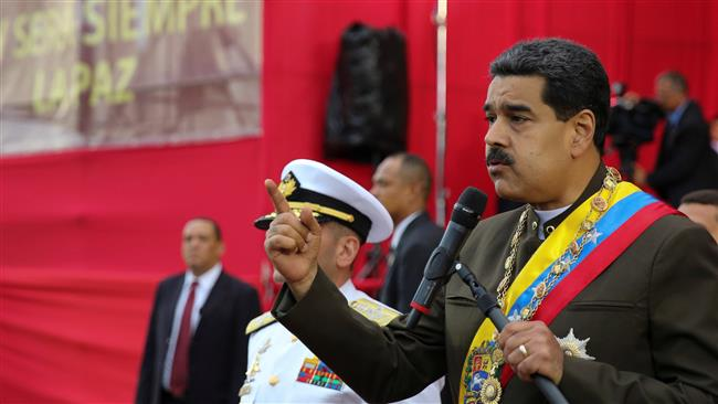 Venezuelan President Nicolas Maduro says country facing armed insurgency, lambastes prosecutor's office