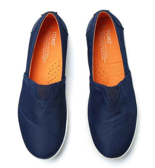 Navy Nylon Military Avalon Shoes