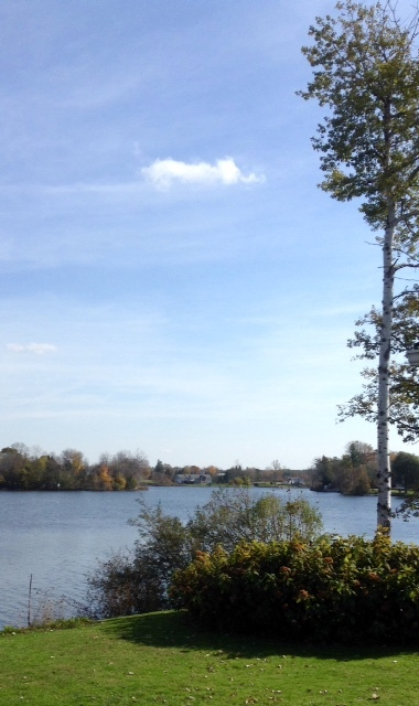 Rideau River on a sunny fall morning