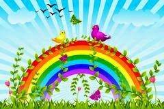 dreamstime rainbow