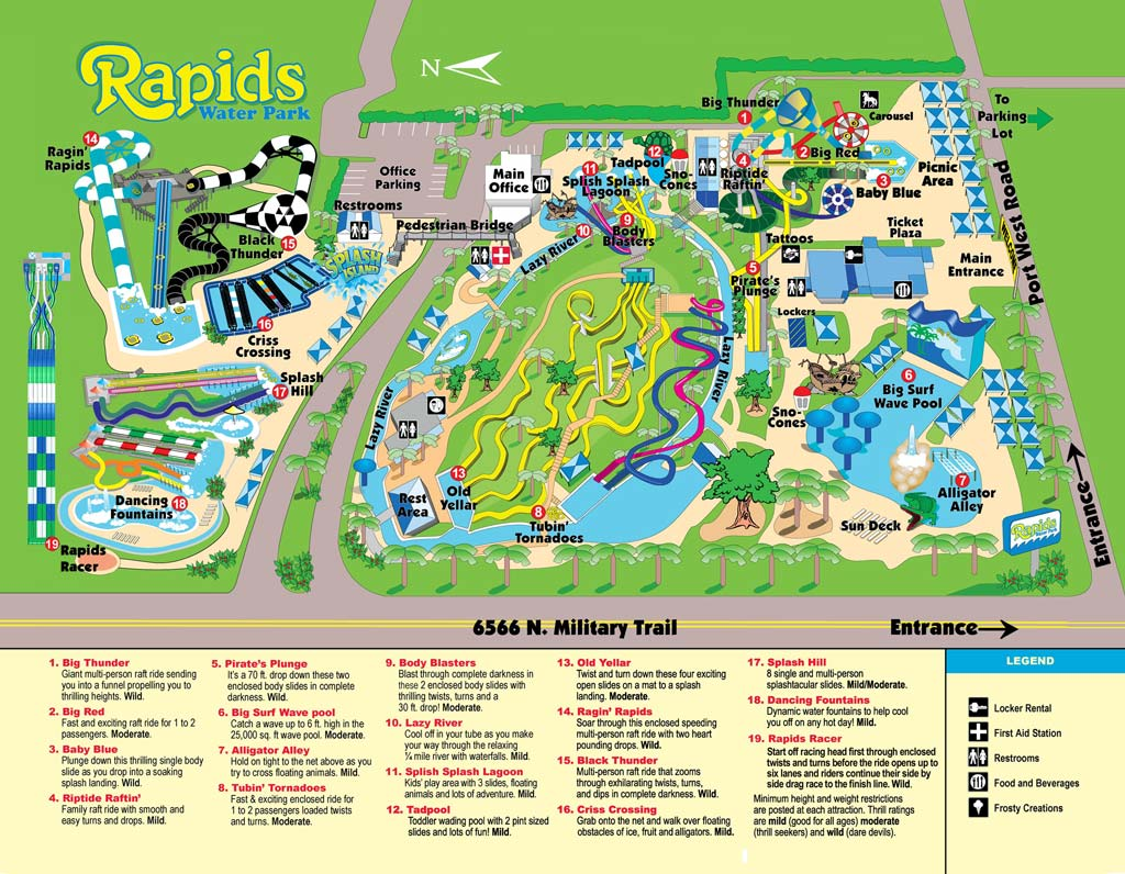 West Palm Beach Fl The Rapids Water Park South Florida S Largest Was Awarded Al Turner Memorial Commitment To Excellence Award At