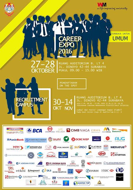 Career Days II Unika Widya Mandala Surabaya 2016