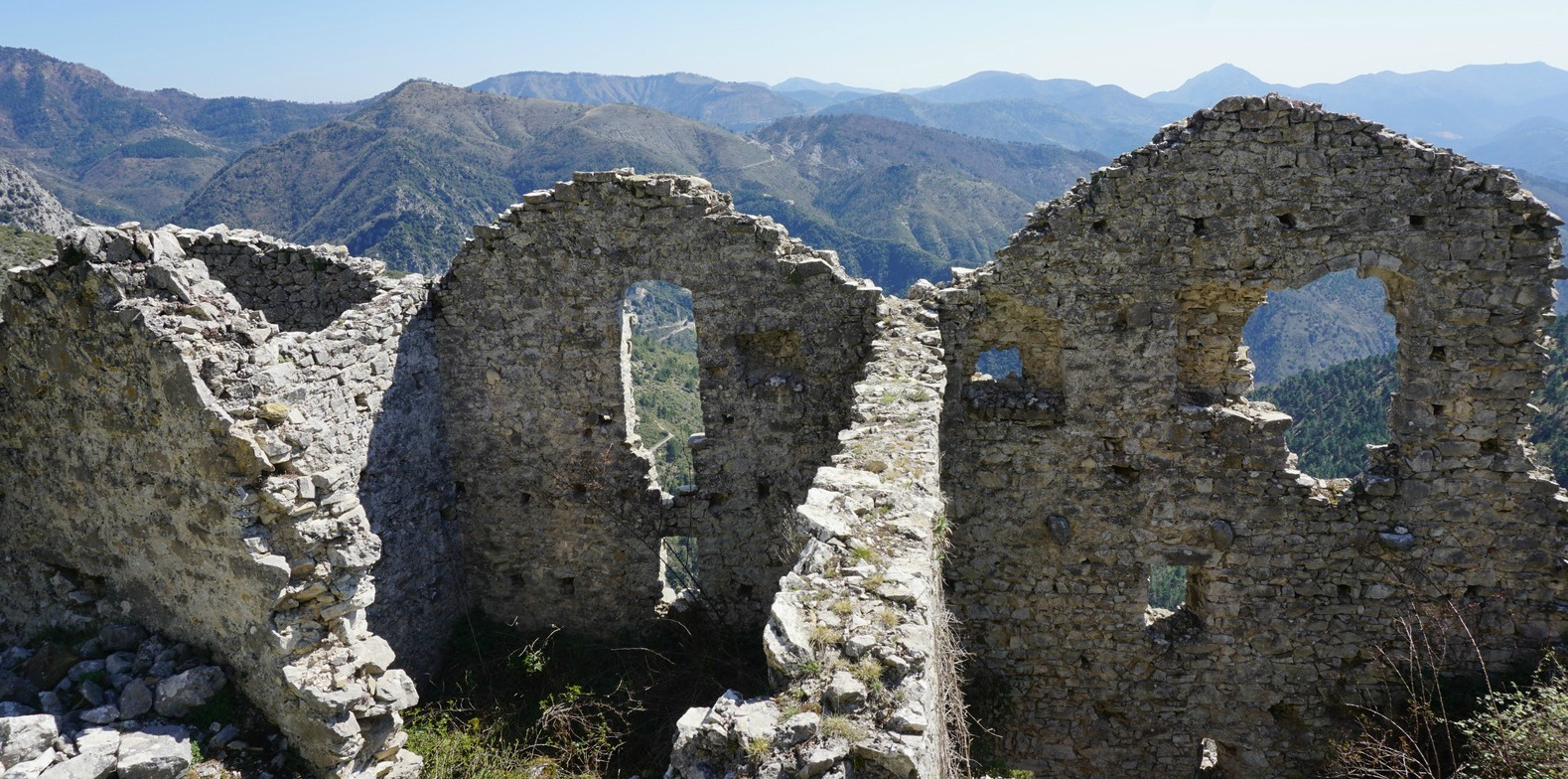 Ruins of Rocca Sparviera