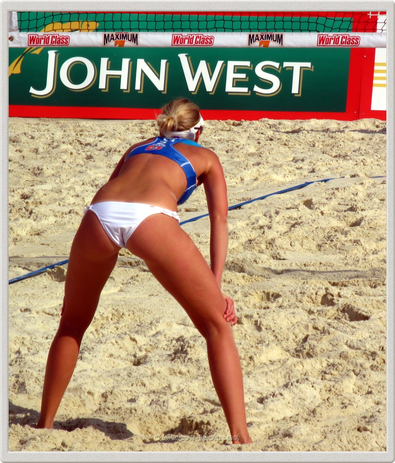 Russian Beach Volleyball Player Evgenia Ukolova