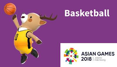 Jadwal dan Hasil Basket di Asian Games 2018