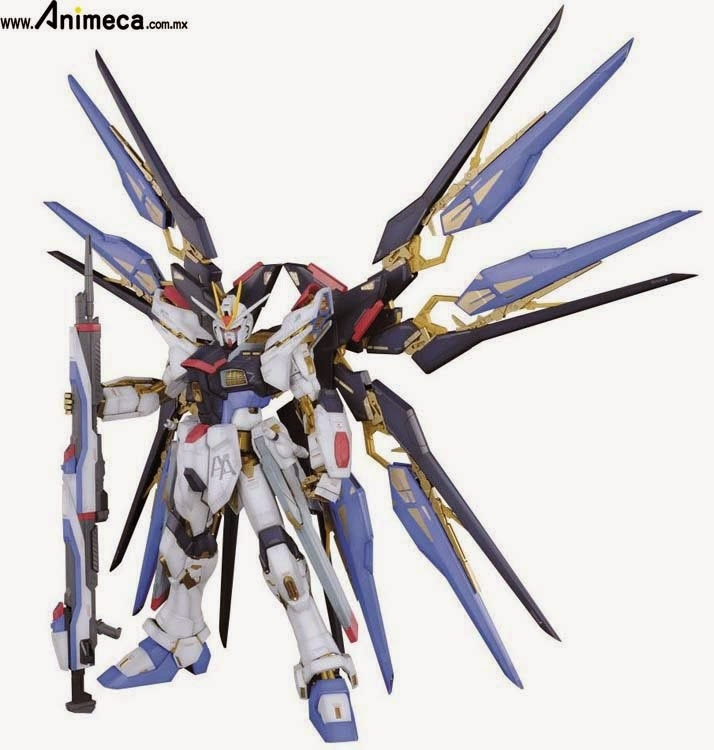 VENTA MODEL KIT STRIKE FREEDOM GUNDAM ZGMF-X20A PERFECT GRADE (PG) 1/60 GUNDAM SEED DESTINY BANDAI