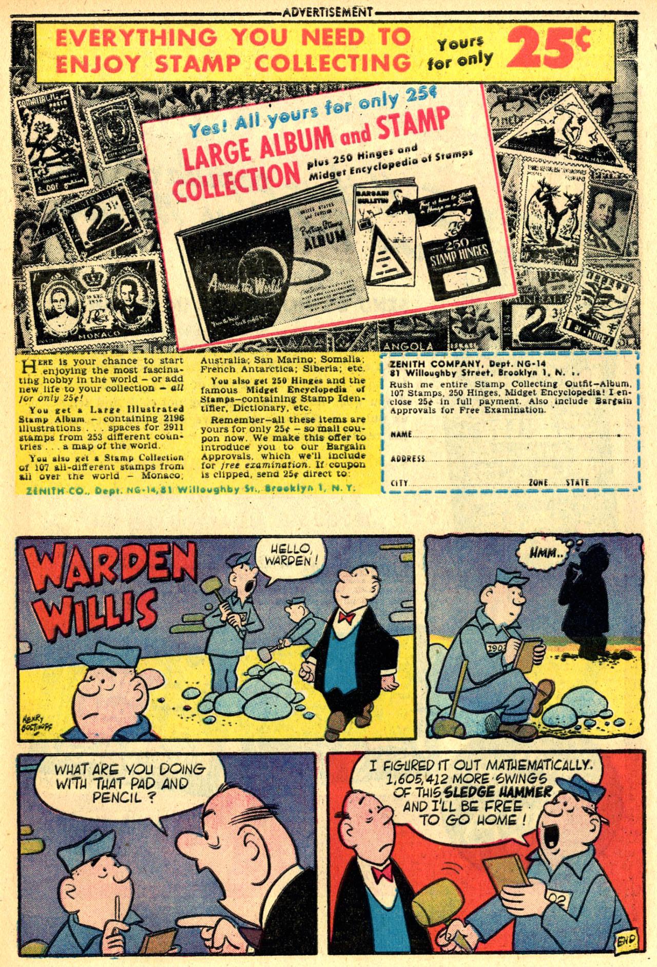Read online Detective Comics (1937) comic -  Issue #245 - 33