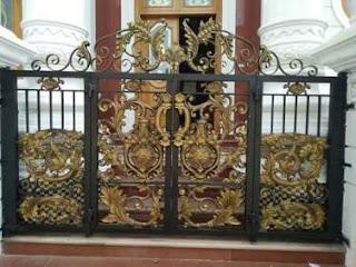 Pintu, Pagar, Lipat, Besi Tempa, Klasik