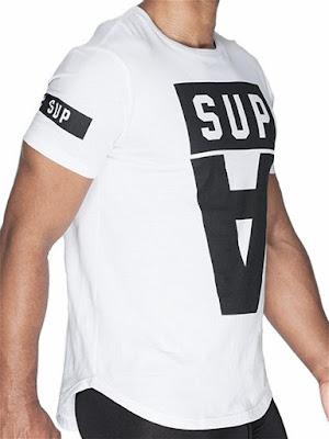 Supawear Crimson T-Shirt Menswear Detail Gayrado Online Shop