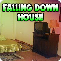 AvmGames Falling Down House Escape Walkthrough