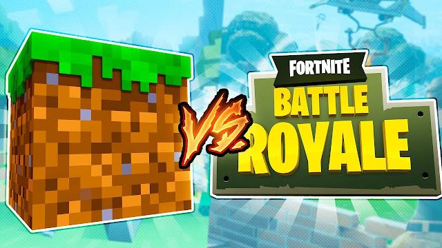 Minecraft sigue superando a Fortnite en jugadores activos por mes!