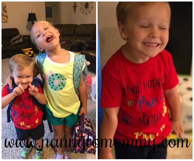 First Day of School Custom Shirt Ideas