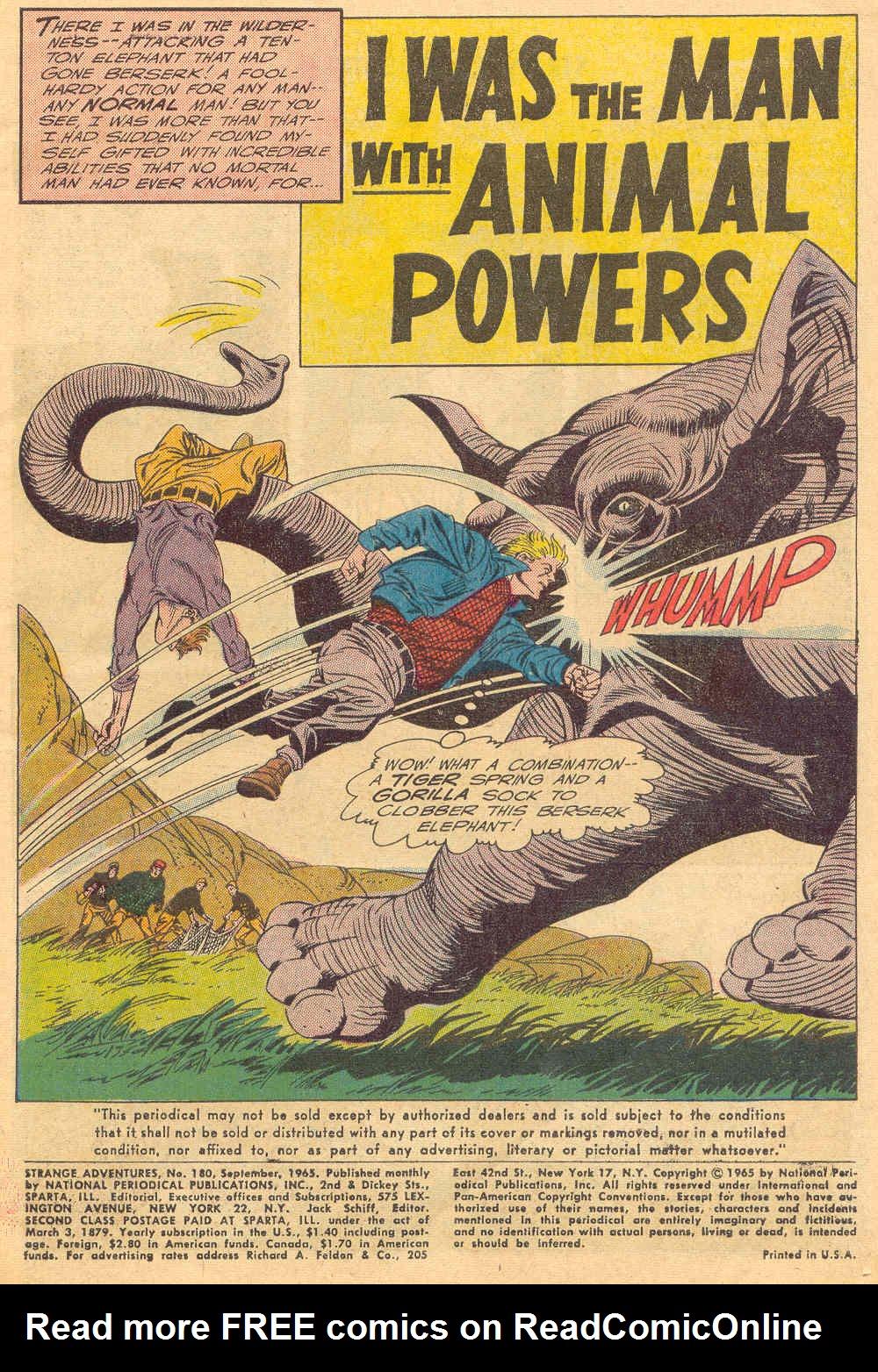 Strange Adventures (1950) issue 180 - Page 3