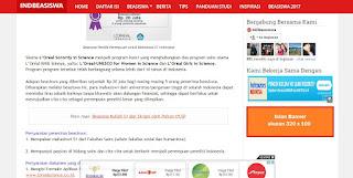 iklan banner murah letak iklan banner di indbeasiswa