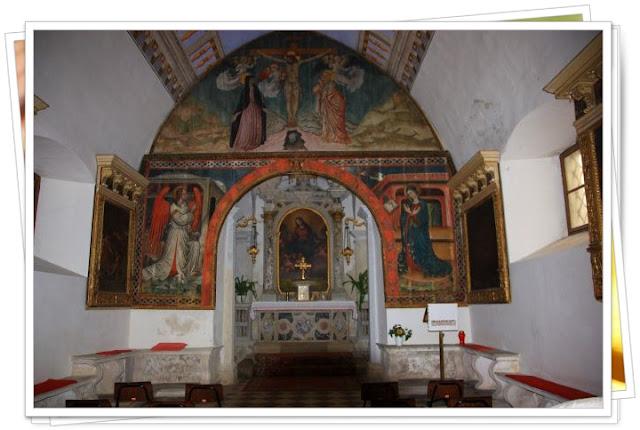 Interior de Cerkev Marije Snezne