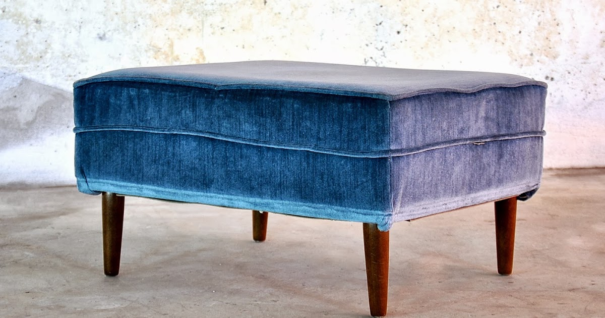 Select Modern Mid Century Modern Ottoman Foot Stool Or