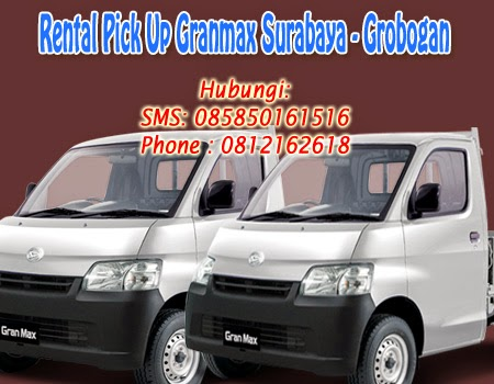 Rental Pick Up GranMax Surabaya-Grobogan