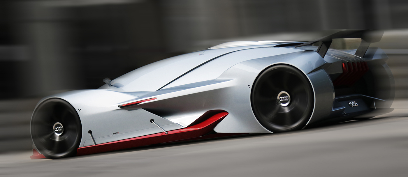 Audi Deep-GT 2035 Concept by Xiaokai Ma | motivezine on