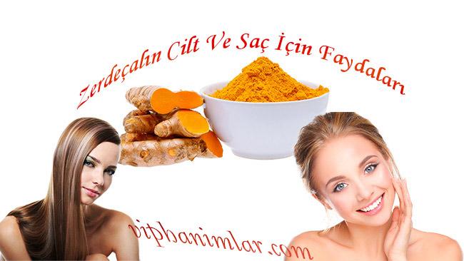 Zerdeçalın Cilt Ve Saç İçin Faydaları - www.viphanimlar.com