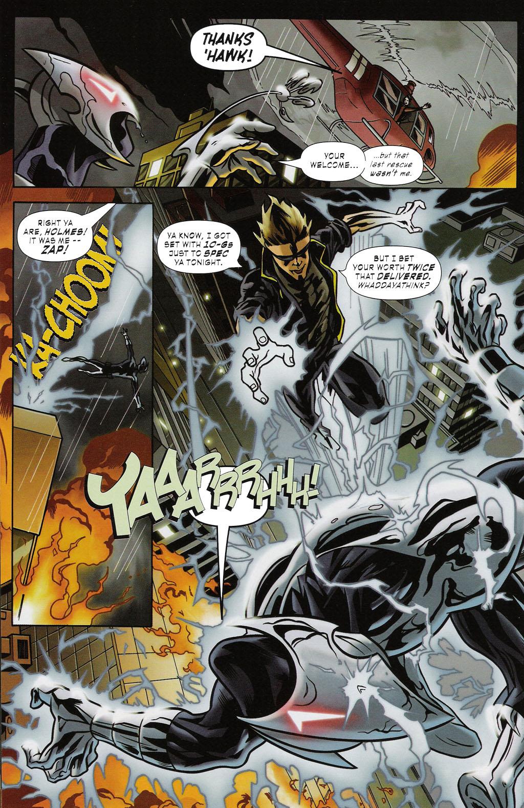 Read online ShadowHawk (2005) comic -  Issue #2 - 14