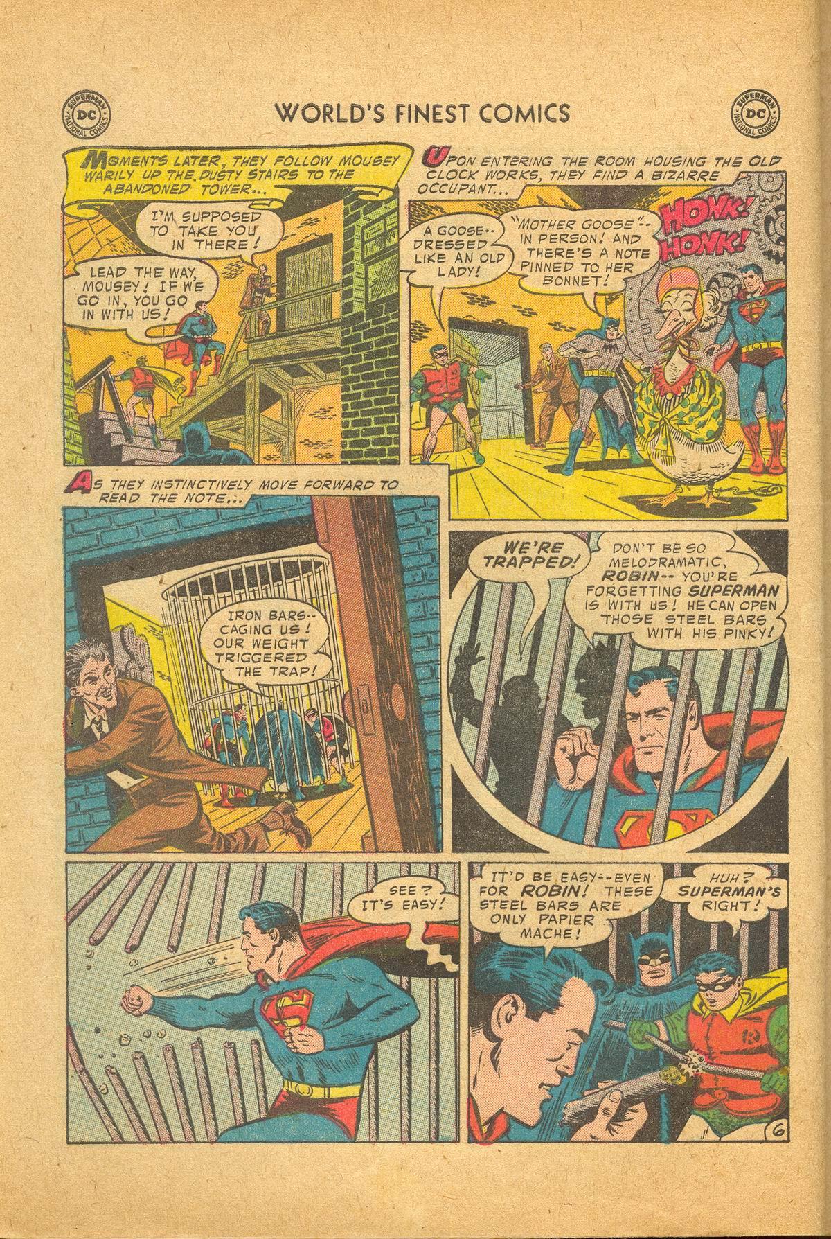 Read online World's Finest Comics comic -  Issue #83 - 8