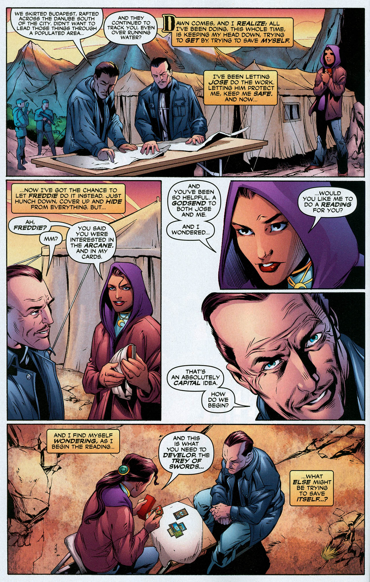 Read online Trinity (2008) comic -  Issue #19 - 14
