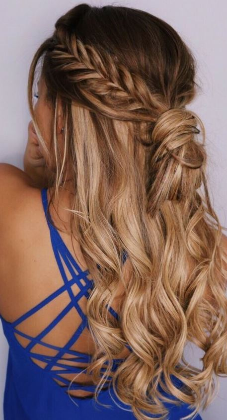 cool boho hair style idea