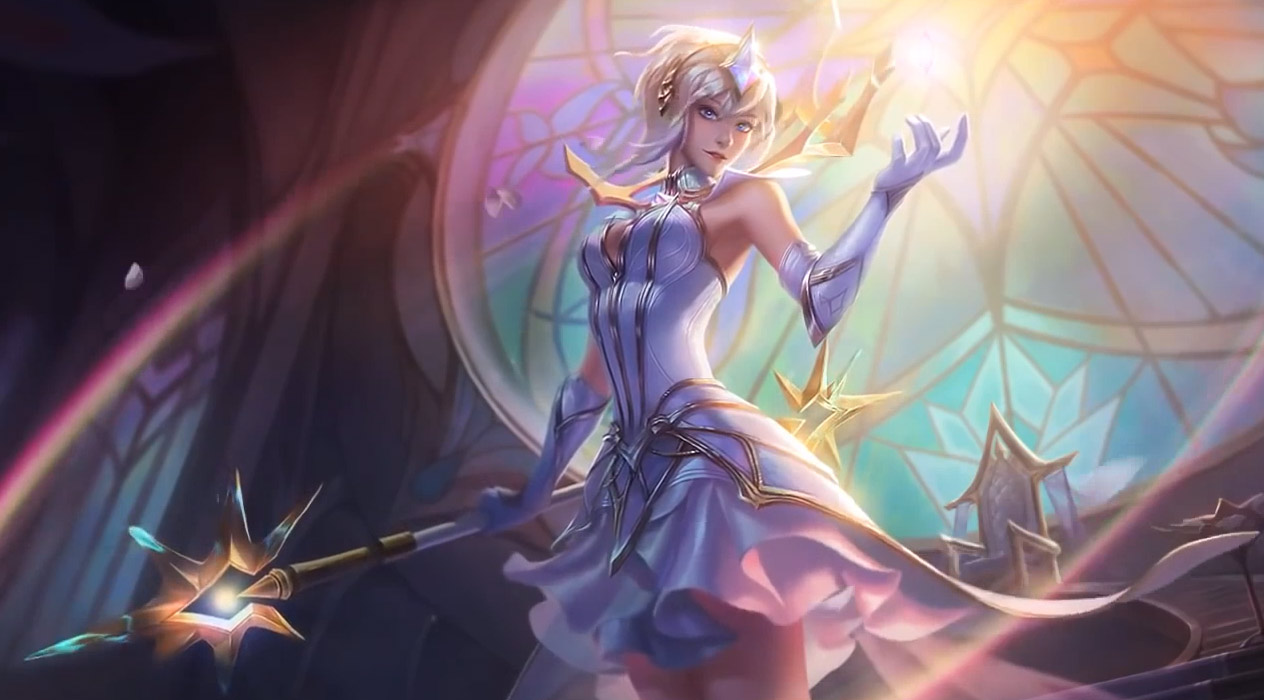 League Of Legends Elementalist Lux Animated Wallpaper