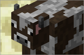 Minecraft Cow Figures