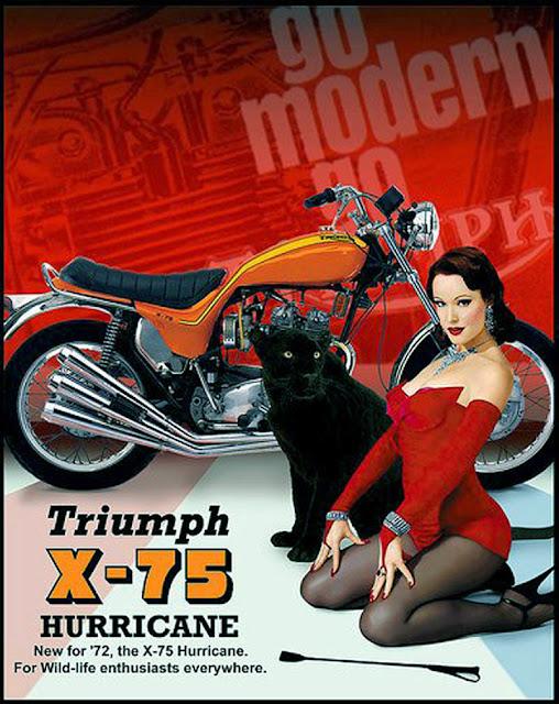 Triumph X-75 Hurricane