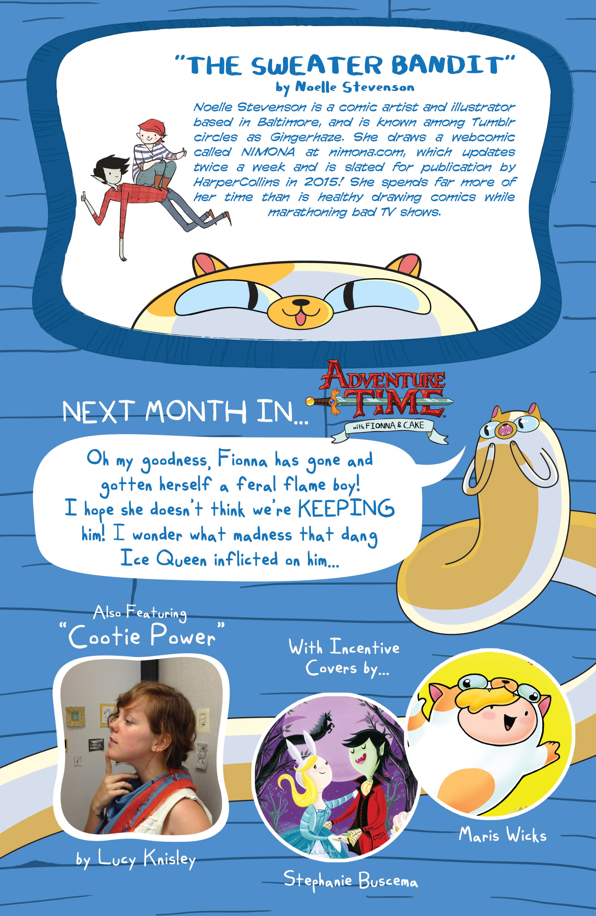 Read online Adventure Time with Fionna & Cake comic -  Issue #1 - 30