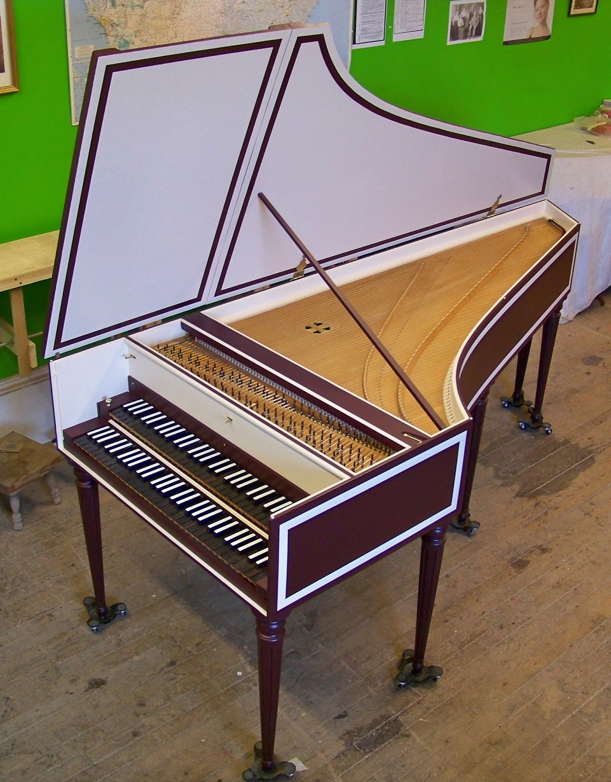 Antiquarian Keyboard Instruments: Hubbard French double for