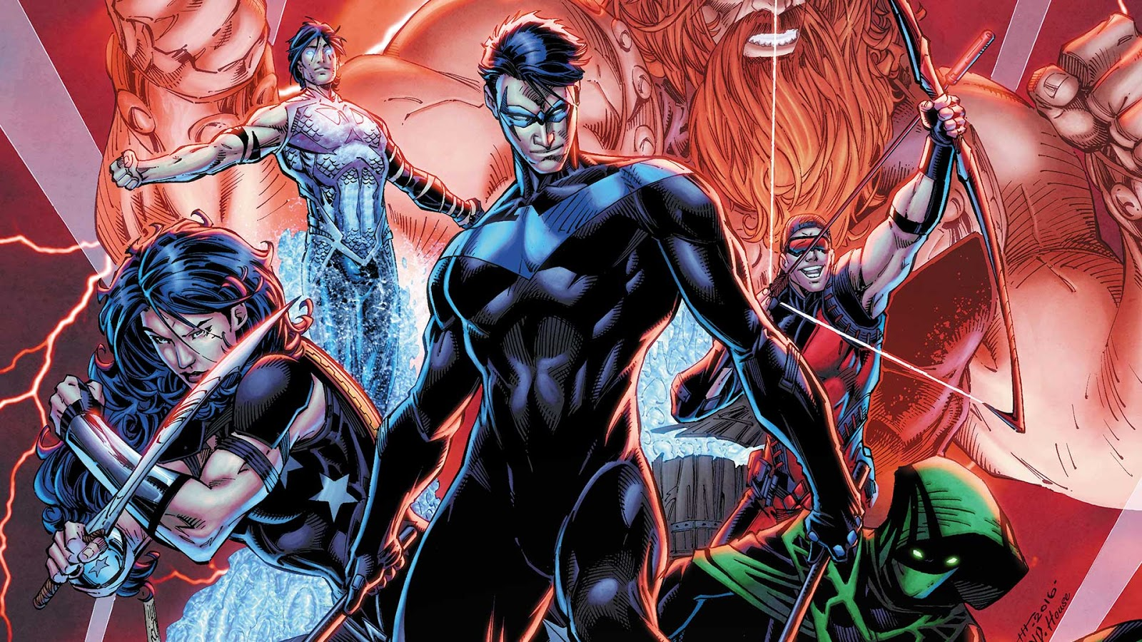 Titans' Live-action Television​ Show Reveal Character Details