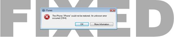 Mengatasi error 3194 Saat Restore dengan iTunes (Windows) | 101Tekno com