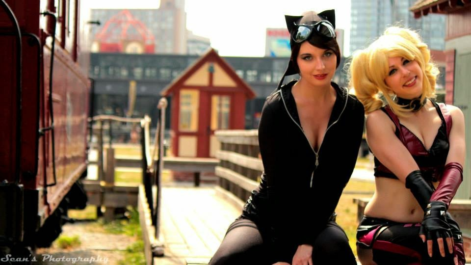 Evie Evangelion Cosplay - The Cat And The Harley