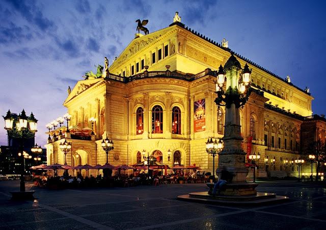 Alte Oper em Frankfurt