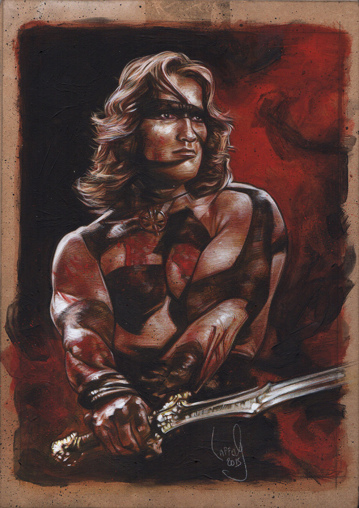 Conan Original Artwork Copyright © 2015 Jeff Lafferty