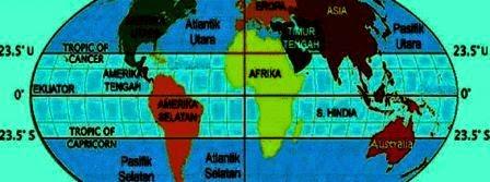 Pengertian & Pengaruh Letak Astronomis dan Geografis Indonesia