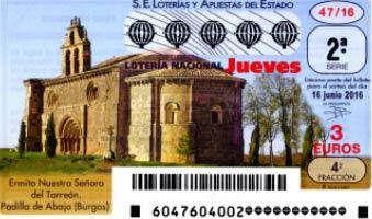 loteria jueves 16 junio 2016