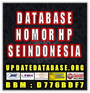 Jual Database Nomor Handphone Aktif Seindonesia