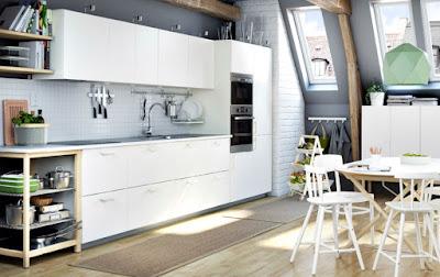 Dapur Impian Dengan Kitchen Set METOD Dari IKEA