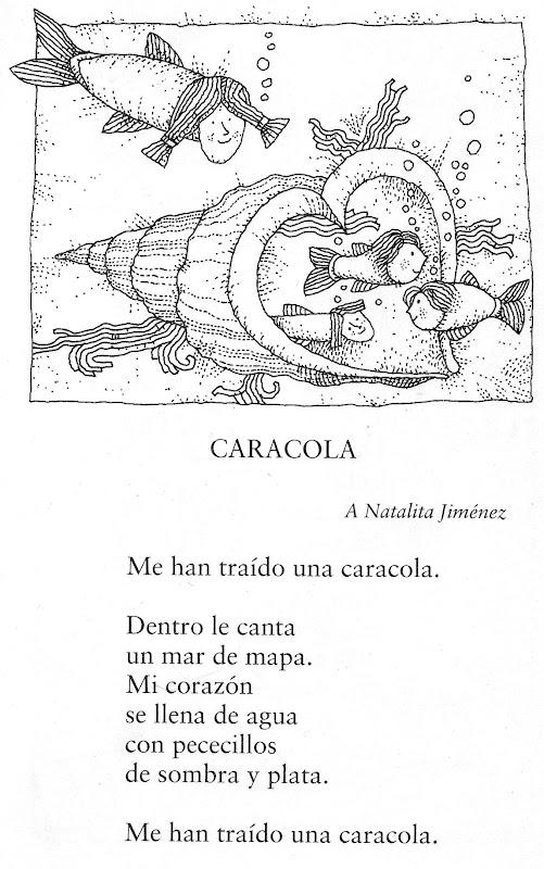Profe Rafa De Infantil Federico García Lorca Poema Caracola