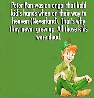 A Morbid Peter Pan Twist