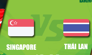 Trực tiếp Thái Lan vs Singapore AFF CUP Ngày 22/11/2016