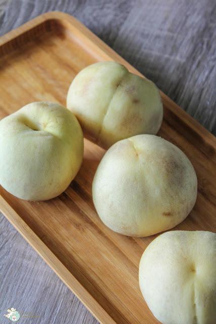 besondere Pfirsiche