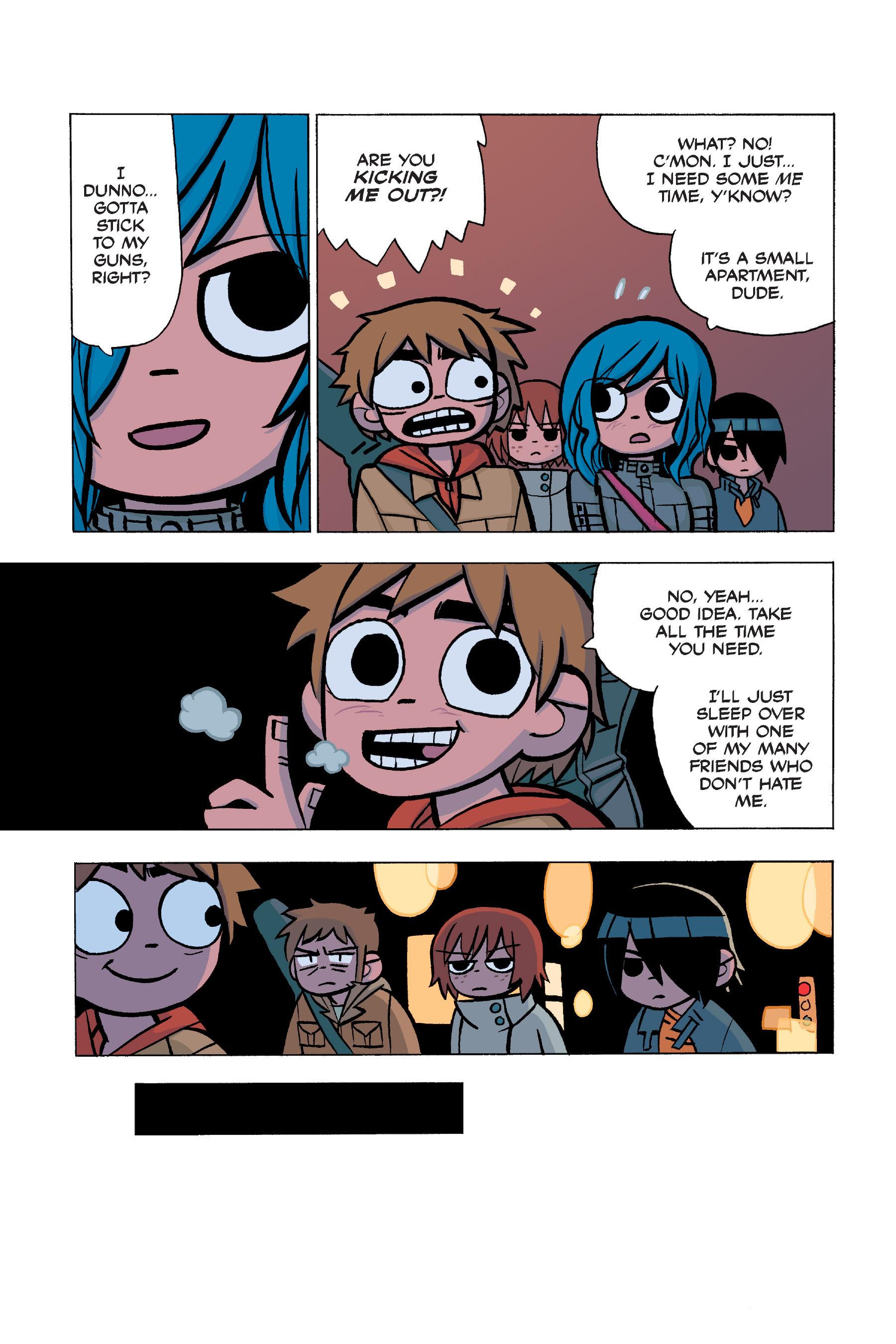 Read online Scott Pilgrim comic -  Issue #5 - 60